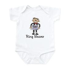 Cartoon Ring Bearer Infant Bodysuit