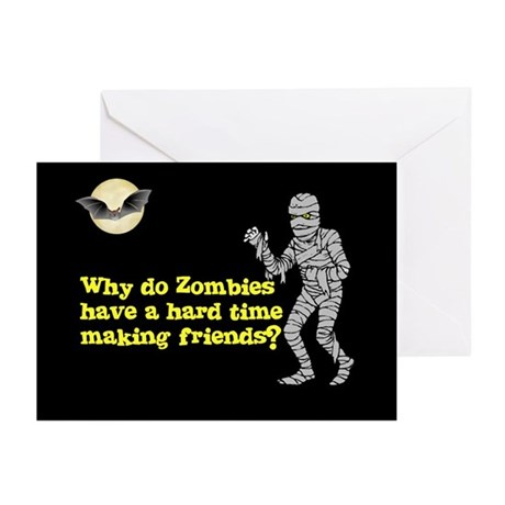 Halloween Zombies Greeting Cards (Pk of 10)