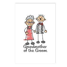 Groom's Grandmother Postcards (Package of 8)