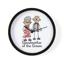 Groom's Grandmother Wall Clock