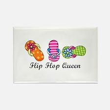 Flip Flop Queen Magnets