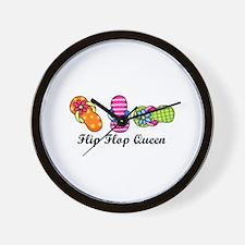 Flip Flop Queen Wall Clock