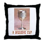A Yiddish Cup Throw Pillow