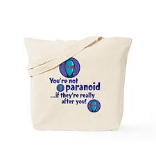 Paranoid - Tote Bag