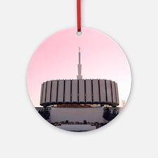 LDS Ogden Utah Temple Ornament (Round)