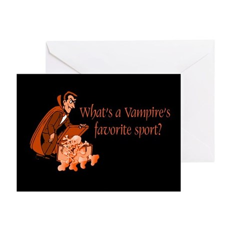 Halloween Vampire Greeting Cards (Pk of 10)
