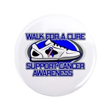 """Male Breast Cancer Walk 3.5"""" Button (100 pack)"""