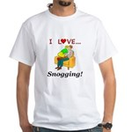 I Love Snogging White T-Shirt