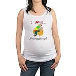 I Love Snogging Maternity Tank Top