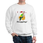 I Love Snogging Sweatshirt