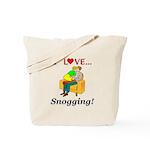 I Love Snogging Tote Bag