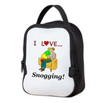 I Love Snogging Neoprene Lunch Bag