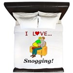 I Love Snogging King Duvet