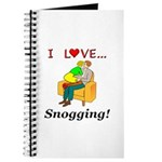 I Love Snogging Journal