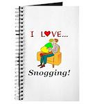 I Love Snogging Journal