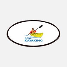 GONE KAYAKING Patches