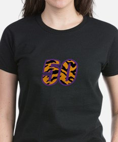 TIGER STRIPED FIFTY T-Shirt