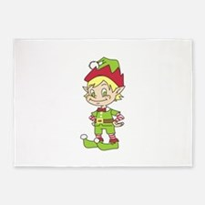 CUTE ELF 5'x7'Area Rug