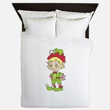 CUTE ELF Queen Duvet