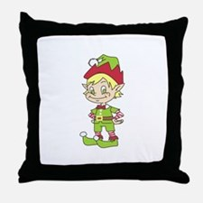 CUTE ELF Throw Pillow