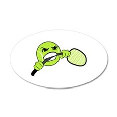 TENNIS FRUSTRATION Wall Decal