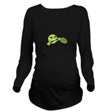 TENNIS FRUSTRATION Long Sleeve Maternity T-Shirt