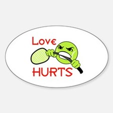 LOVE HURTS Decal