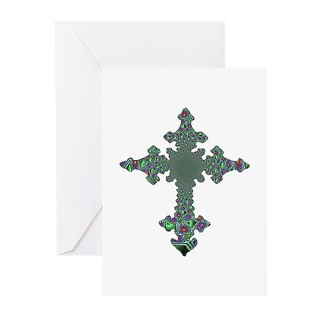 Jewel Cross Greeting Cards (Pk of 10)