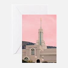 LDS Mount Timpanogos Temple Greeting Cards