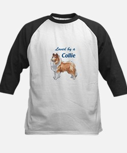 LOVED BY A COLLIE Baseball Jersey