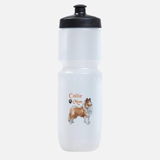 COLLIE MOM Sports Bottle