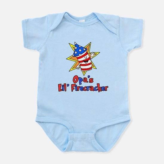 Opa's Little Firecracker Body Suit