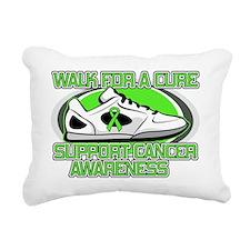 Lymphoma Walk Rectangular Canvas Pillow