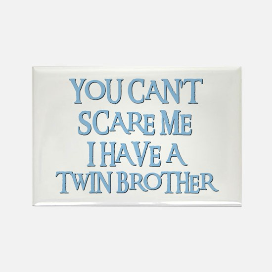TWIN BROTHER Rectangle Magnet