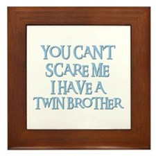 TWIN BROTHER Framed Tile