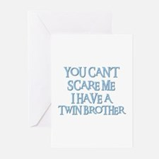 TWIN BROTHER Greeting Cards (Pk of 10)