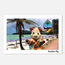Vacation Pig postcards