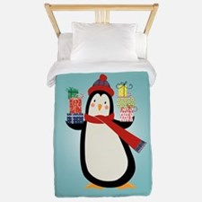 Christmas Penguin Twin Duvet