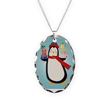 Christmas Penguin Necklace