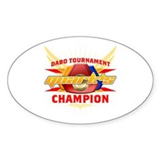 Quark's Dabo Champion Oval Decal