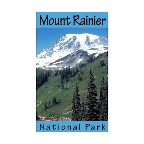 Mount Rainier NP (Vertical) Rectangle Sticker