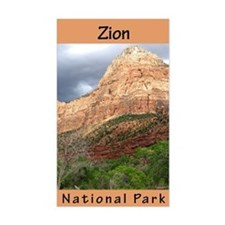 Zion NP (Vertical) Rectangle Decal