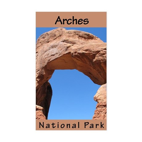 Arches NP (Vertical) Rectangle Sticker