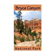 Bryce Canyon NP (Vertical) Rectangle Decal