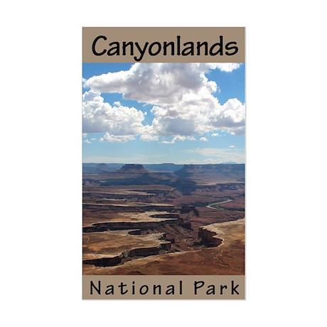 Canyonlands NP (Vertical) Rectangle Sticker