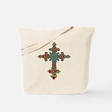 Jewel Cross Tote Bag