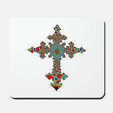 Jewel Cross Mousepad