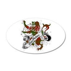 MacAulay Tartan Lion Wall Decal