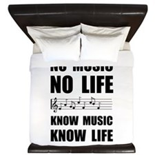 Know Music Know Life King Duvet