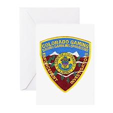 Colorado Gaming Enforcement Greeting Cards (Packag
